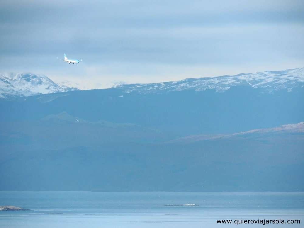 Viajar sola a Ushuaia, llegar en avión