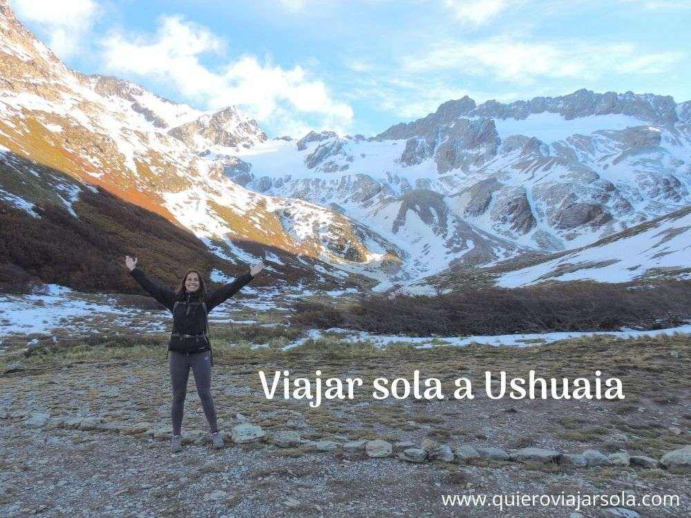 Viajar sola a Ushuaia