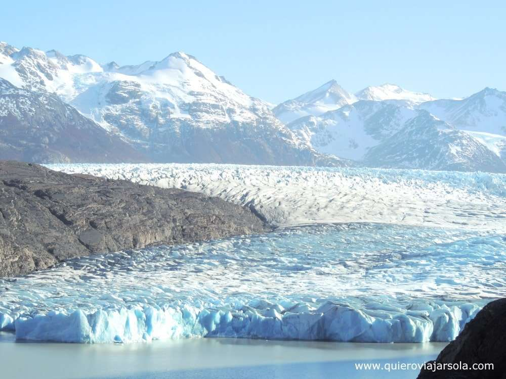 Visitar Torres del Paine, glaciar Grey