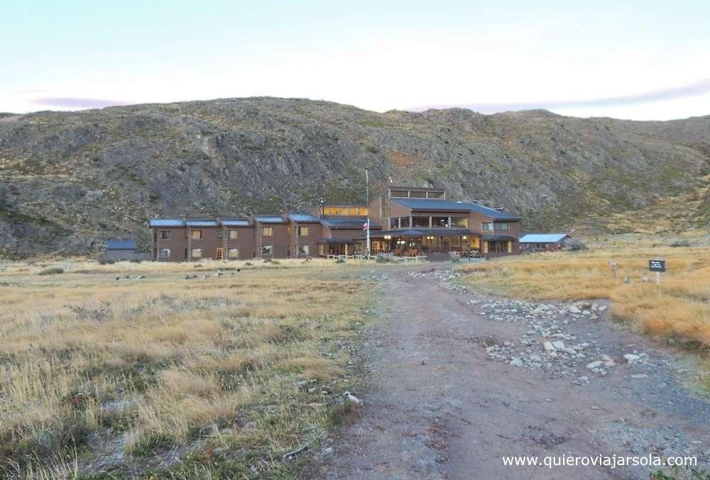 Visitar Torres del Paine, refugio Paine Grande