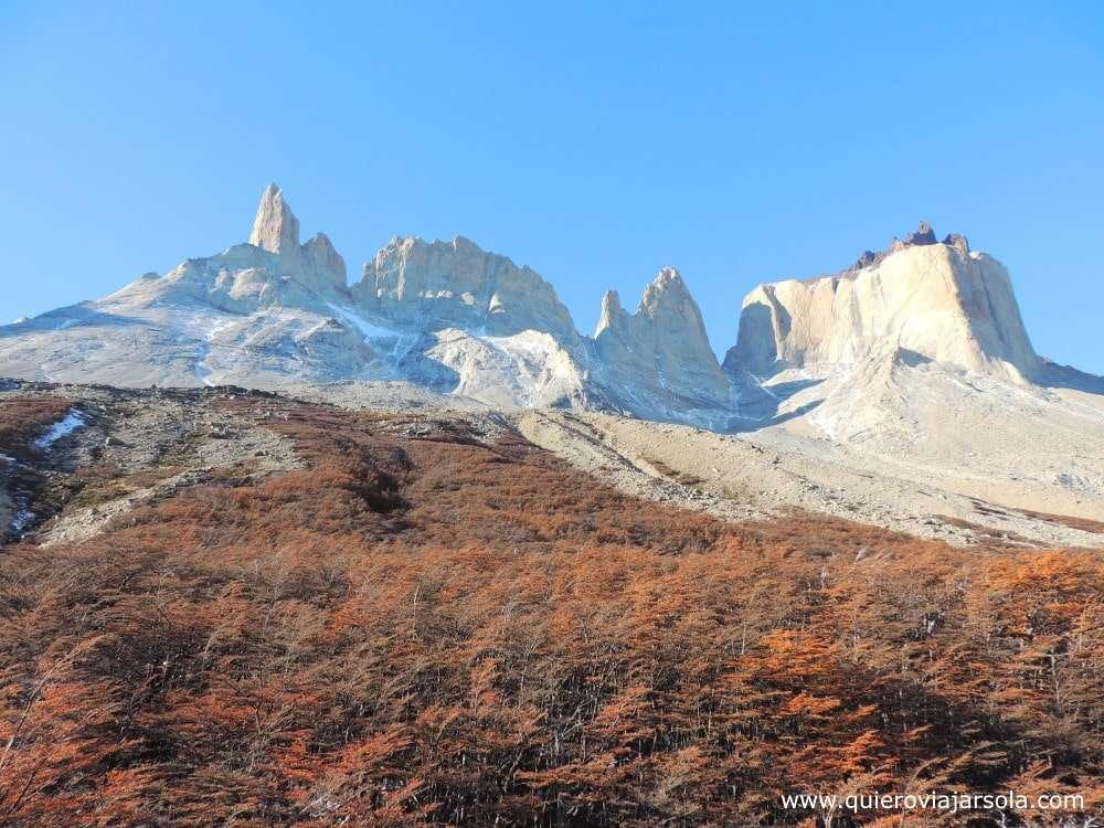 Visitar Torres del Paine, Valle del Francés