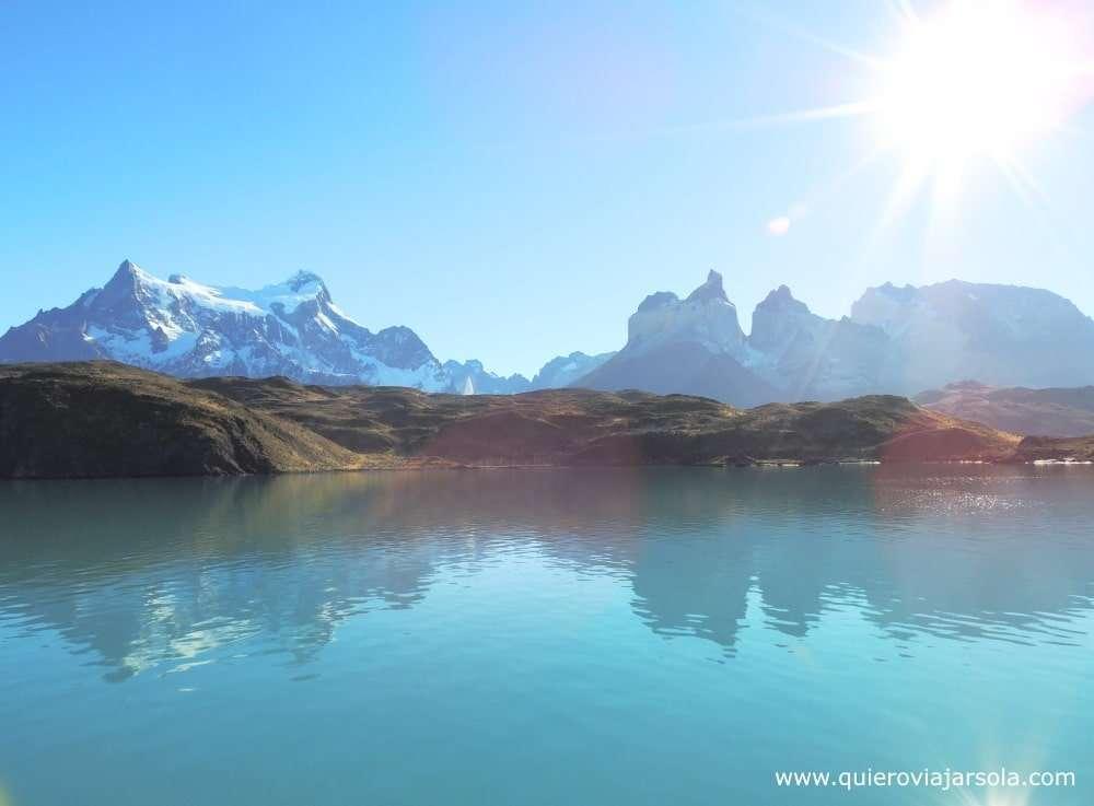 Visitar Torres del Paine, navegación Paine Grande a Pudeto