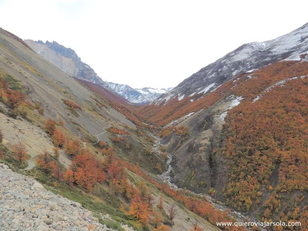 Visitar Torres del Paine, sendero Torres