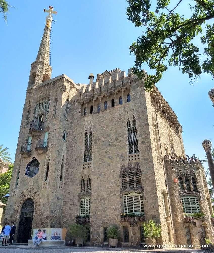 torre Bellesguard de Gaudí