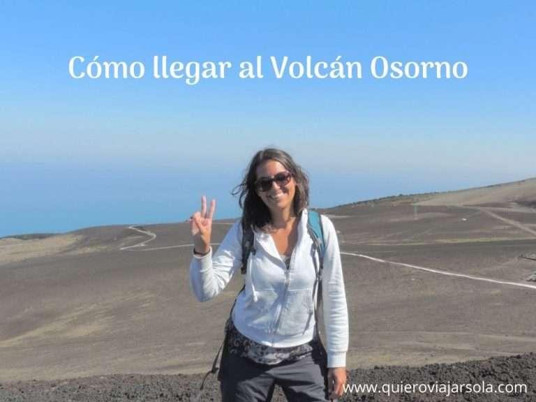 Cómo llegar al Volcán Osorno