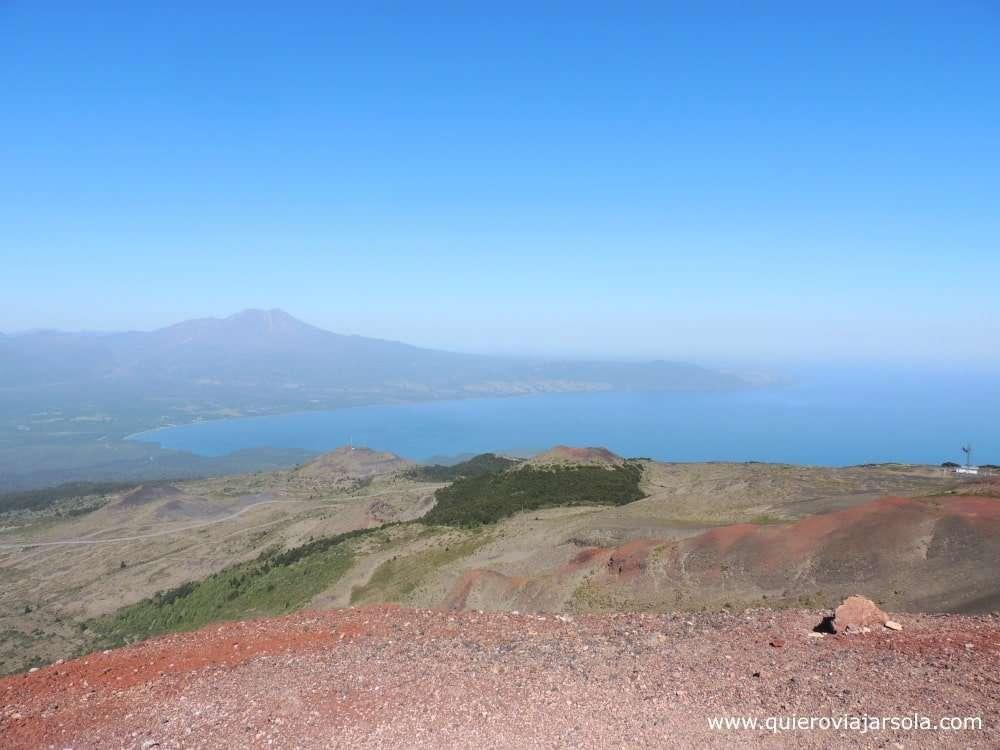 Cómo llegar al Volcán Osorno, vistas Lago Llanquihue