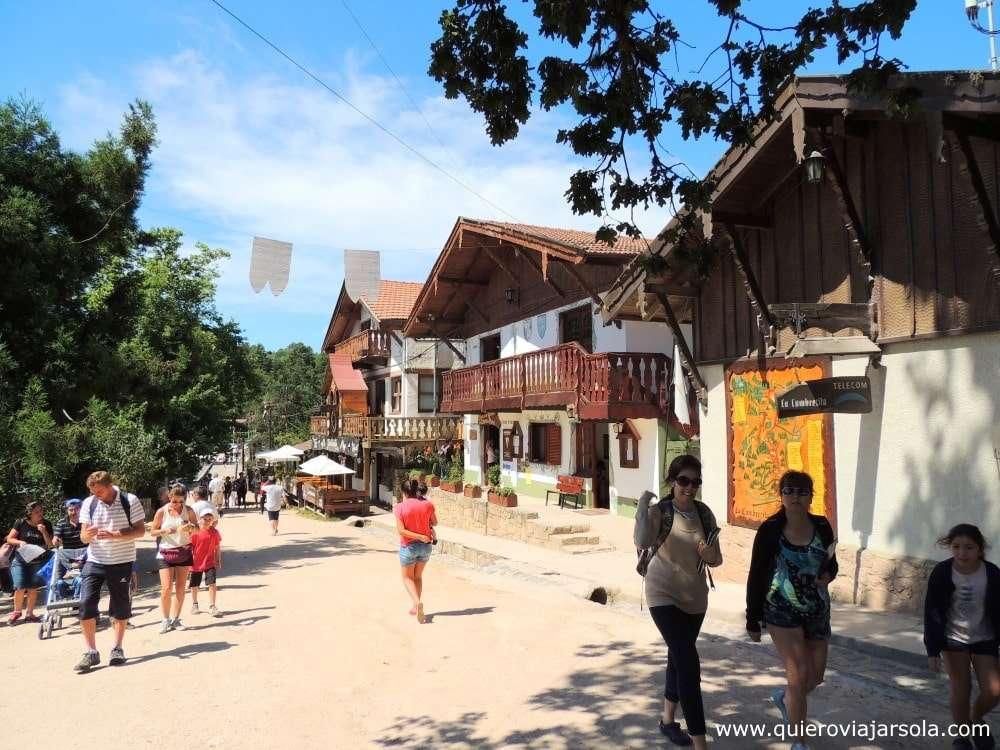 La Cumbrecita, calle principal