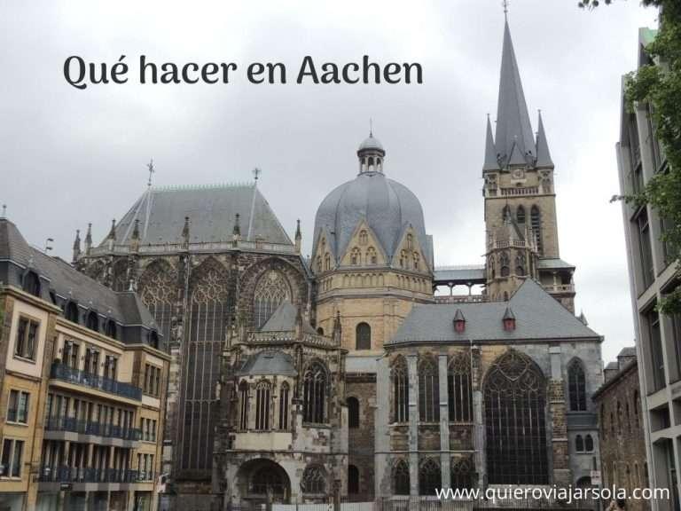 Qué hacer en Aachen