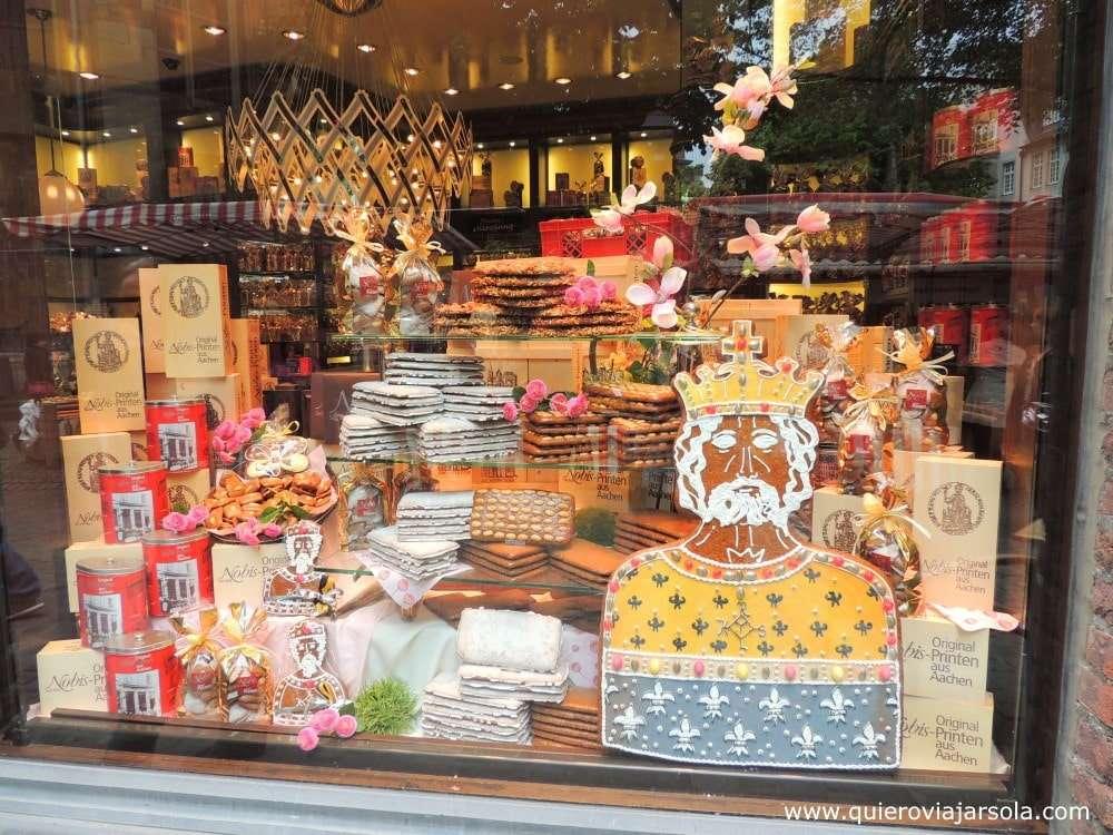 Qué hacer en Aachen, galletas Aachener Printen