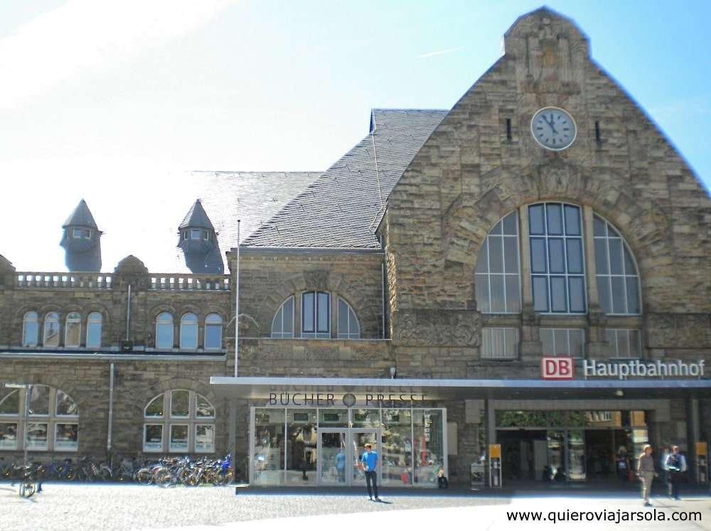 Qué hacer en Aachen, llegar en tren