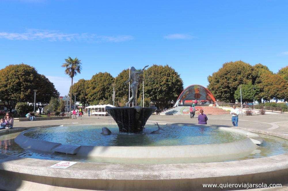 Que hacer en Castro, Plaza de Armas