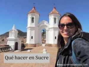 Que hacer en Sucre