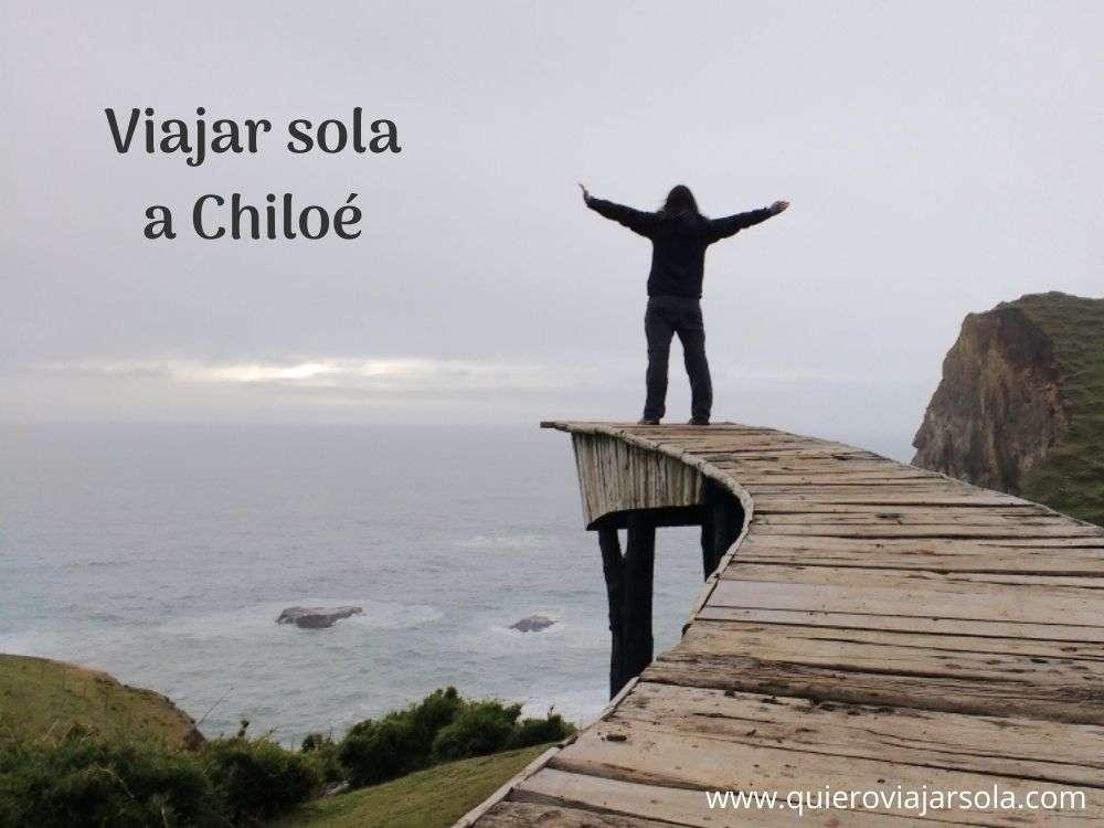 Viajar sola a Chiloé