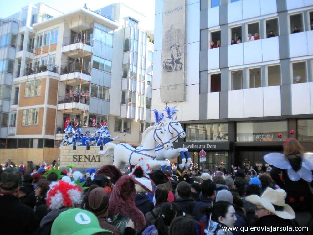 Carnaval de Colonia, carroza