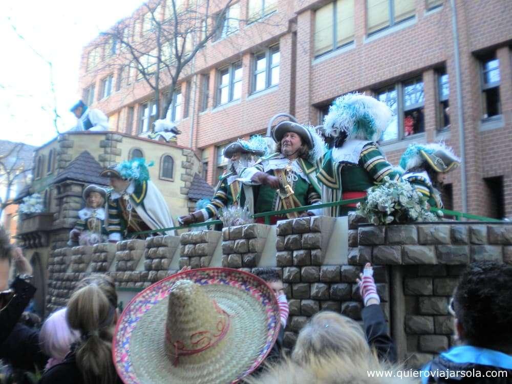 Carnaval de Colonia, desfile
