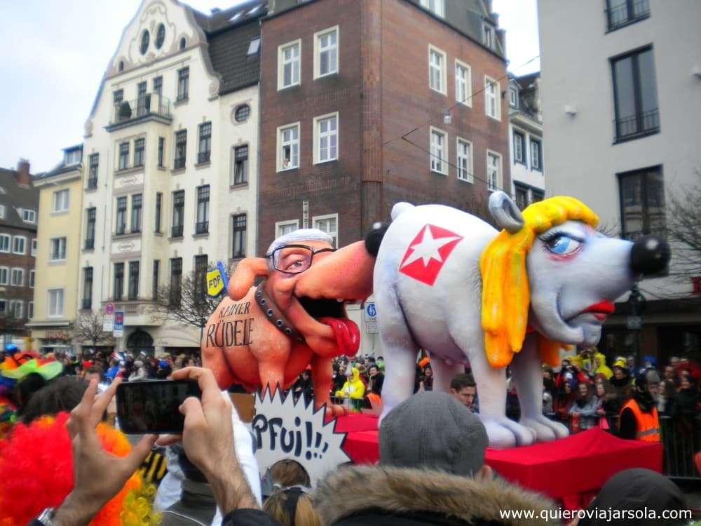 Carnaval de Düsseldorf, Rosenmontag