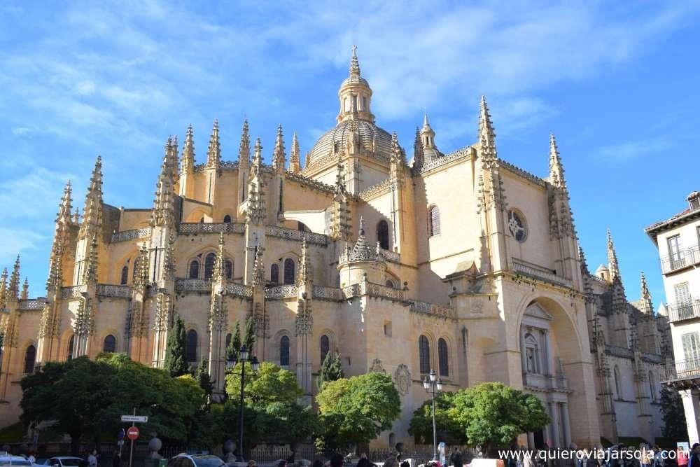 Que hacer en Segovia, catedral