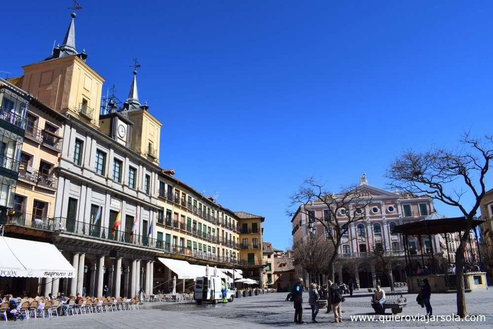 Que hacer en Segovia, Plaza Mayor