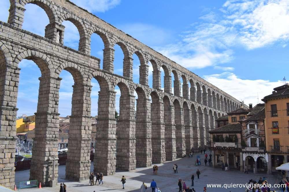 Que hacer en Segovia, acueducto