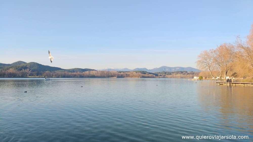 Qué ver en Besalú, lago de Banyoles