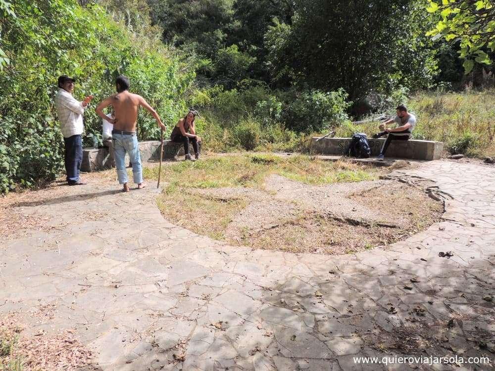 Ruta del Che, Quebrada del Churo