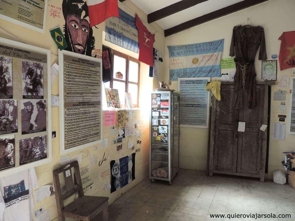 Ruta del Che, museo de la Escuelita de La Higuera