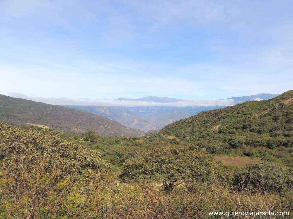 Ruta del Che, paisaje La Higuera