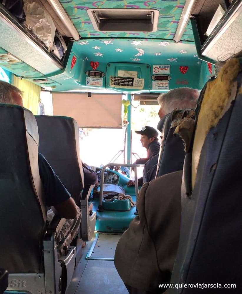 Viajar sola a Catamarca, autobús