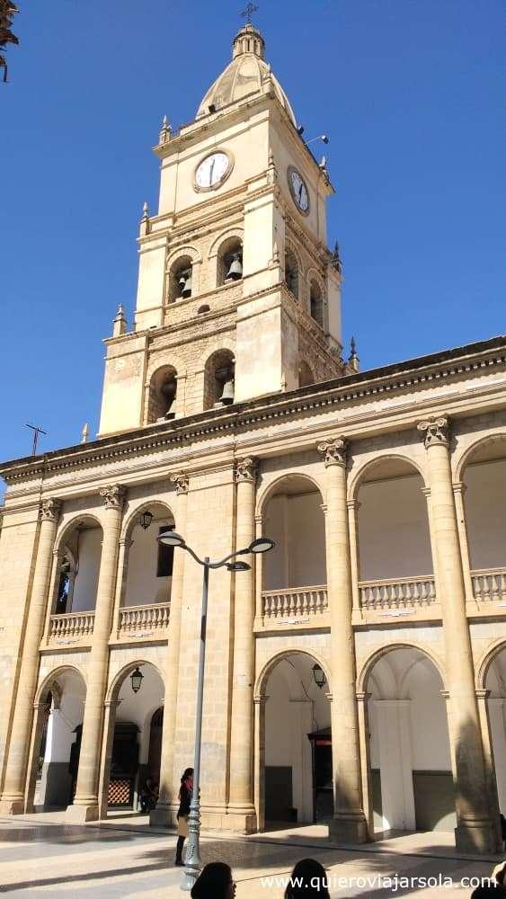 Viajar sola a Cochabamba, Catedral