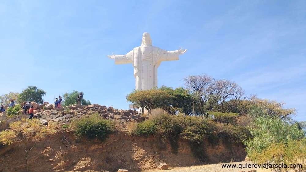 Viajar sola a Cochabamba, Cristo de la Concordia