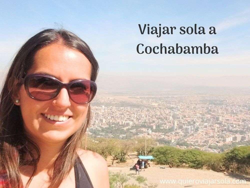Viajar sola a Cochabamba