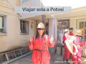 Viajar sola a Potosí