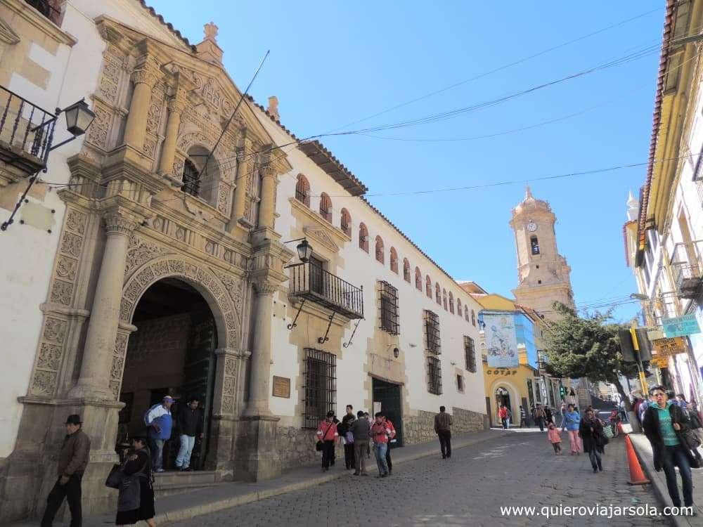 Viajar sola a Potosí, Casa de la Moneda