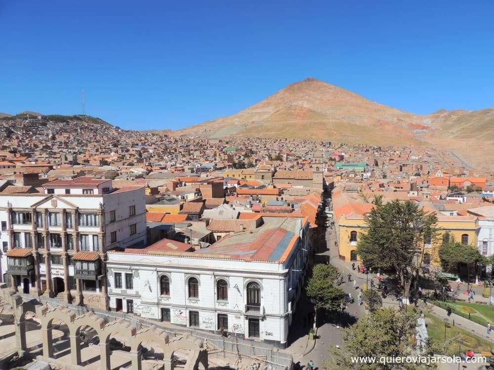 Viajar sola a Potosí, Cerro Rico
