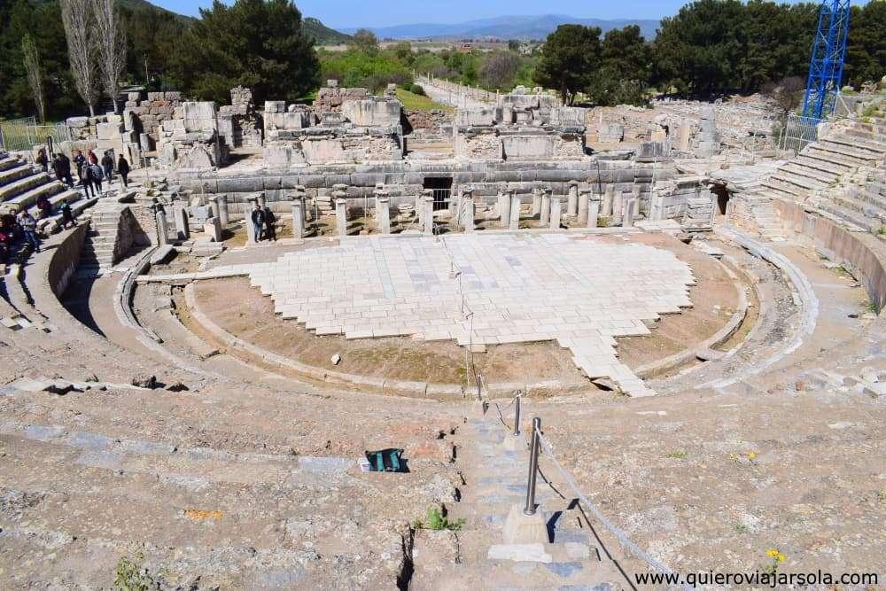 Visitar Éfeso, Gran Teatro