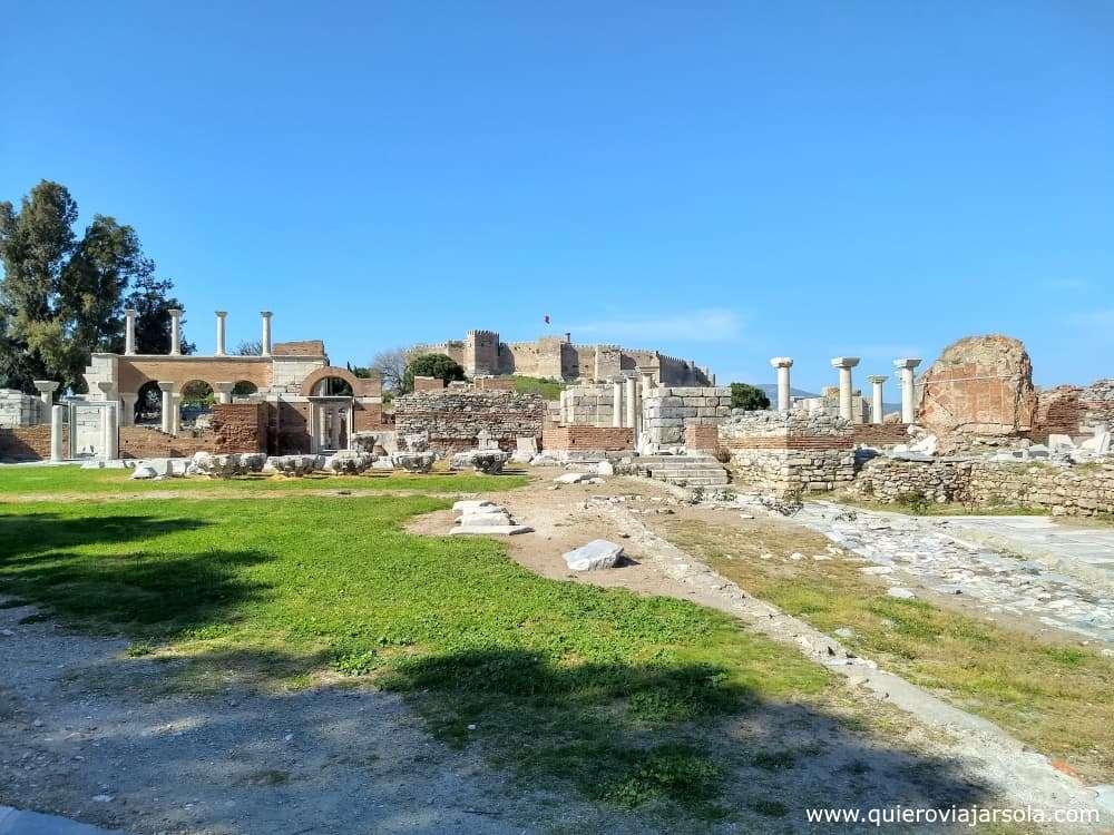 Visitar Éfeso, castillo de Selcuk