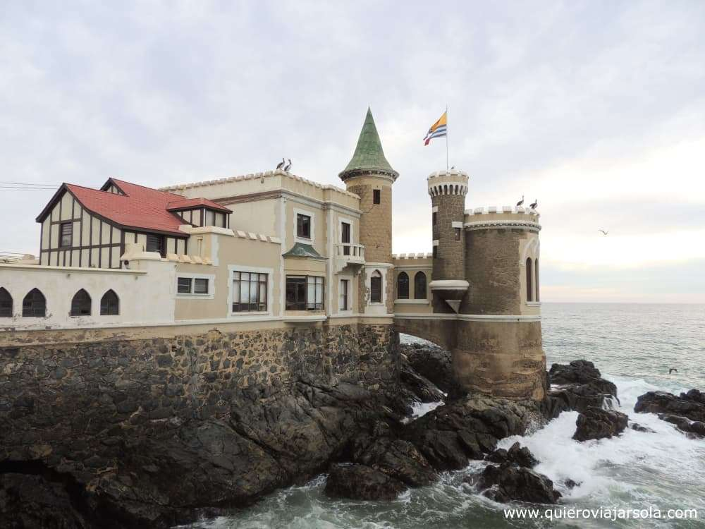 Visitar Viña del Mar, Castillo Wulff