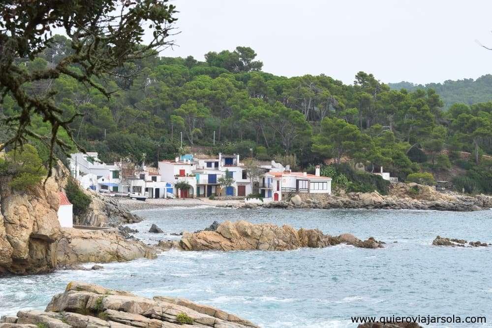 Caminos de Ronda de Girona, cala S'Alger