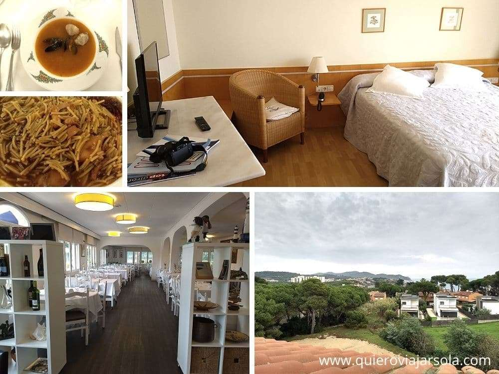 Caminos de Ronda de Girona, Hotel Áncora