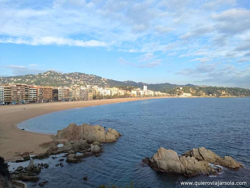Caminos de Ronda de Girona, Lloret de Mar