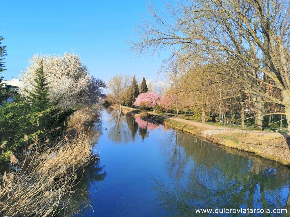 Canal de Castilla - canal