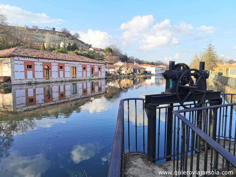 Canal de Castilla, dársena de Valladolid