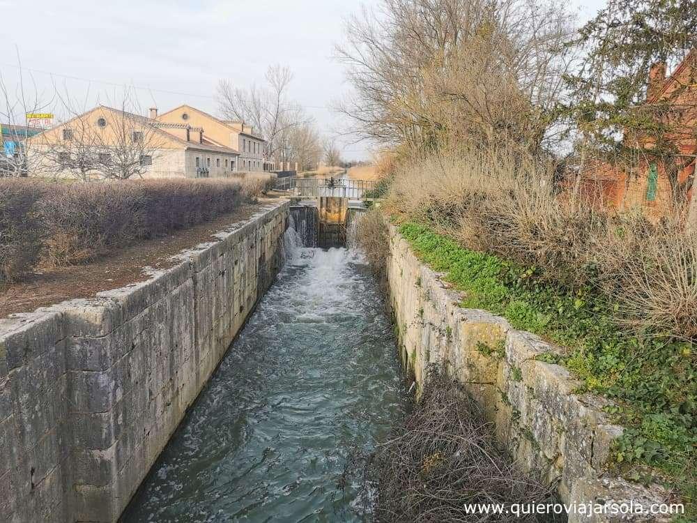 Canal de Castilla, esclusa