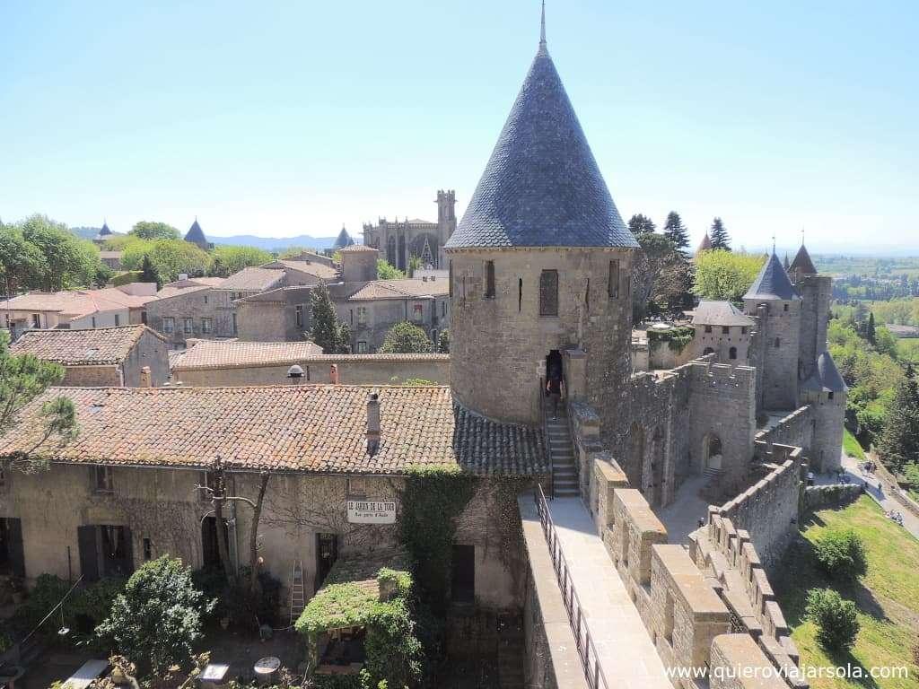 Que hacer en Carcassonne, Castillo Condal