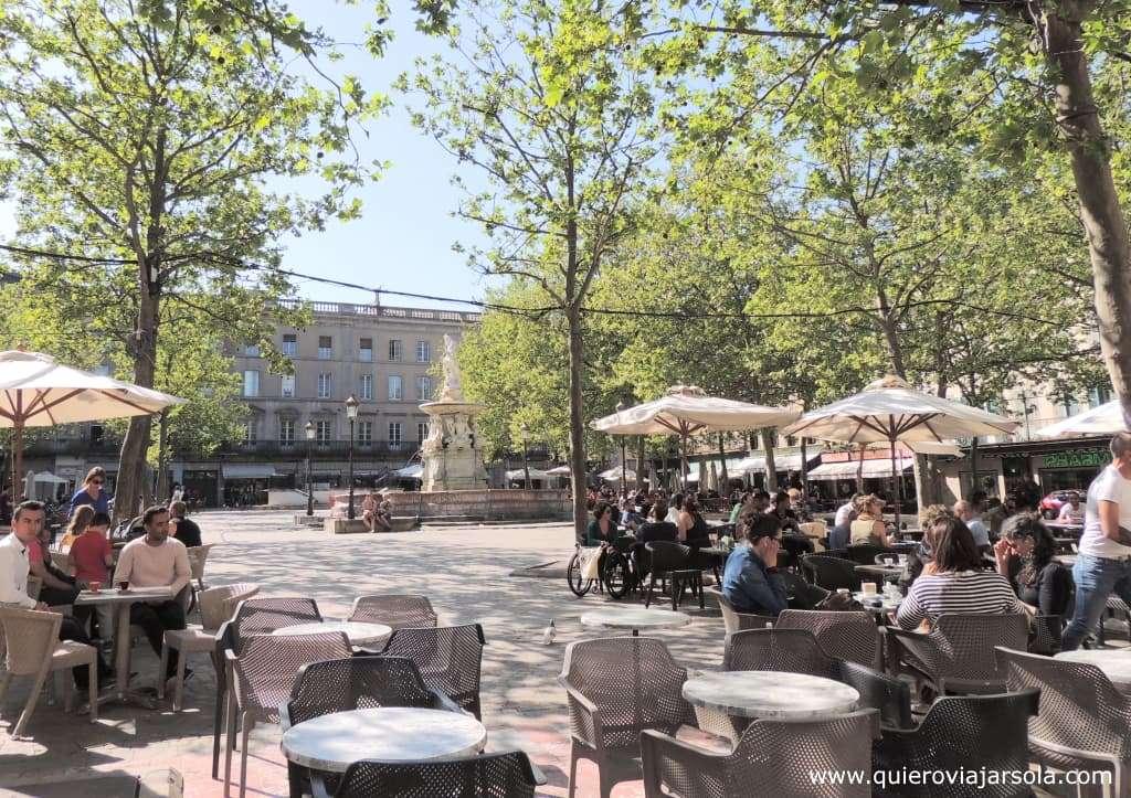 Que hacer en Carcassonne, place Carnot