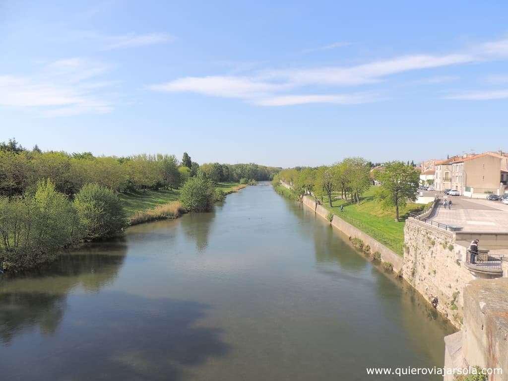 Que hacer en Carcassonne, río Aude