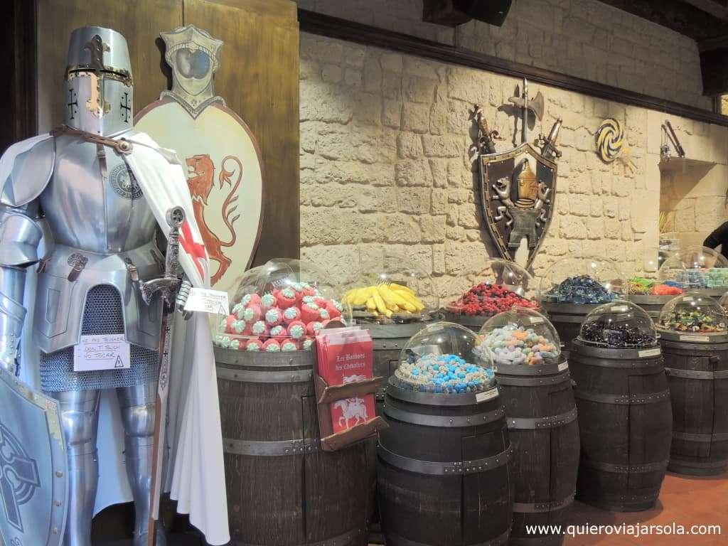 Que hacer en Carcassonne, tienda