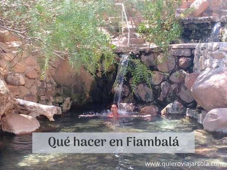 Que hacer en Fiambala