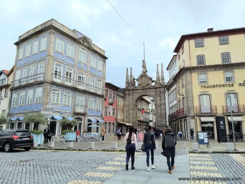 Qué ver en Braga, Arco da Porta Nova