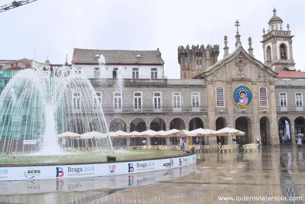 Qué ver en Braga, plaça da Republica